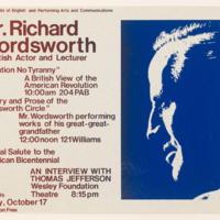 Mr. Richard Wordsworth