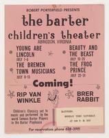 Barter Children's Theatre July 1-31