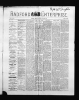 Radford Enterprise (Radford, VA), Vol. 1, No. 4, Saturday, June 28, 1890