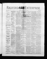 Radford Enterprise (Radford, VA), Vol. 1, No. 6, Saturday, July 5, 1890