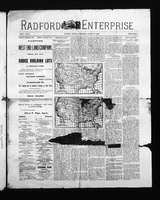 Radford Enterprise (Radford, VA), Vol. 1, No. 21, Wednesday, August 27, 1890