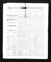 Radford Enterprise (Radford, VA), Vol. 2, No. 9, Wednesday, January 14, 1891