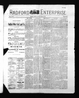 Radford Enterprise (Radford, VA), Vol. 2, No. 46, Saturday, May 23, 1891
