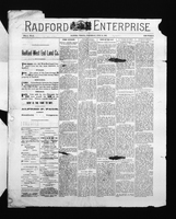 Radford Enterprise (Radford, VA), Vol. 2, No. 51, Wednesday, June 10, 1891