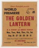 Golden Lantern by M.K. Steward and Rebecca Franklin