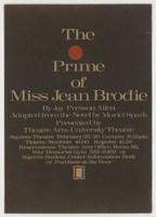 Prime of Miss Jean Brodie by Jay Presson Allen