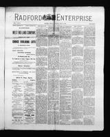 Radford Enterprise (Radford, VA), Vol. 1, No. 10, Saturday, July 19, 1890