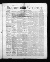 Radford Enterprise (Radford, VA), Vol. 1, No. 39, Wednesday, October 29, 1890