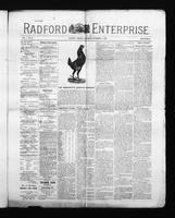 Radford Enterprise (Radford, VA), Vol. 1, No. 42, Saturday, November 8, 1890