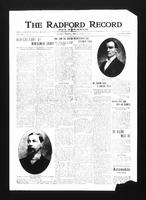 Radford Record and Advance (Radford, VA), Vol. 24, No. 18, Friday, March 7, 1913