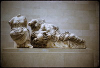 Sculpture from the Parthenon. British Museum.